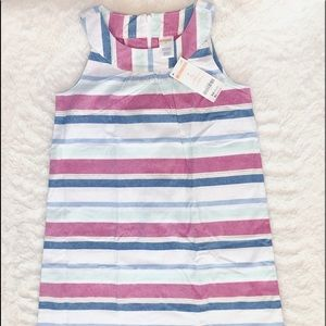 NWT Striped Cotton Sundress